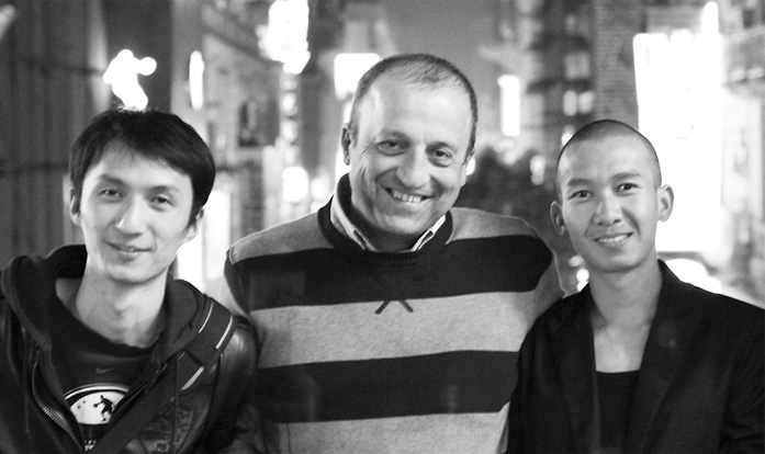 Mr Ma biao, Dr Levent Efe, and Mr Li Jian