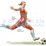 Soccer player female